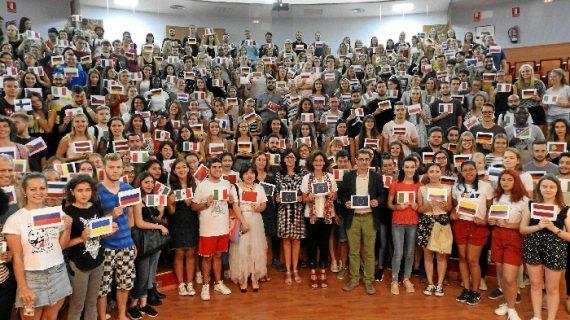 La UHU da la bienvenida a más de 400 estudiantes de Programas de Movilidad Internacional