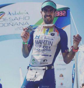Emilio Martín, de nuevo triunfador en el Desafío Doñana.