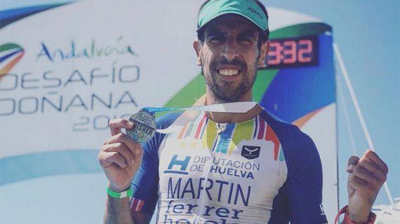 Emilio Martín reedita por tercer año consecutivo su triunfo en el Desafío Doñana