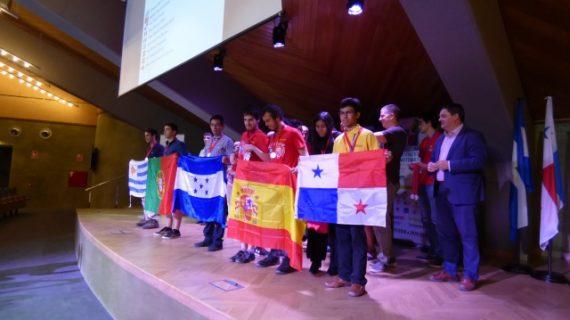 Entregadas en La Rábida las medallas de la XXXIII Olimpiada Iberoamericana de Matemática