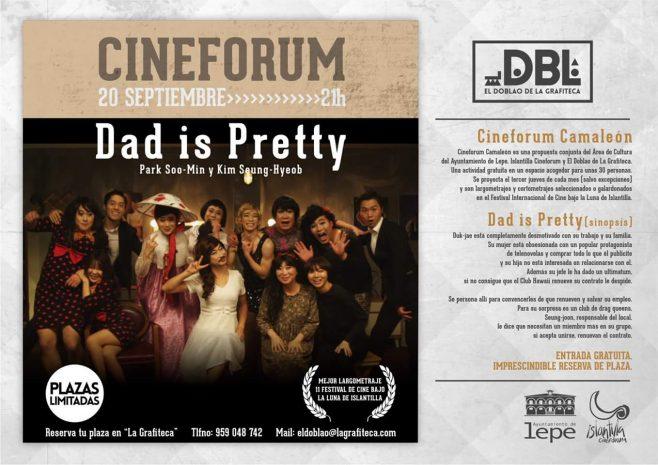 El largometraje 'Dad is Pretty' inaugura el Cinefórum Camaleón de Lepe
