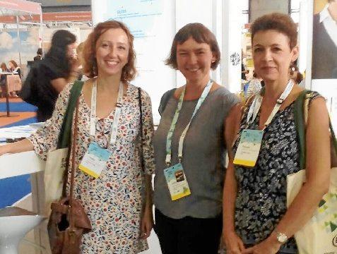 Activa presencia de la UHU en la Feria Internacional de la EAIE en Ginebra