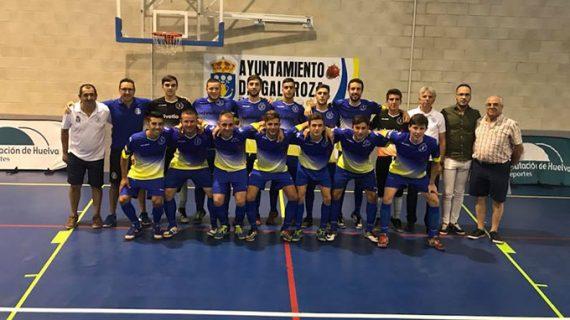 El CD Galaroza Helvetia cierra su debut en Tercera División de fútbol sala con un empate ante uno de los 'gallitos'
