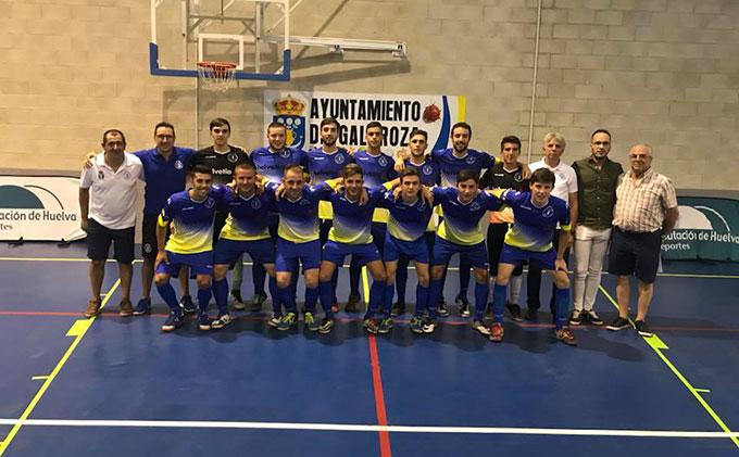 El Galaroza Helvetia FS fue el único equipo de Huelva que puntuó en la última jornada.