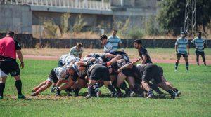 Los componentes del Huelva Rugby Unión tuvieron un exigente triangular en Sevilla.