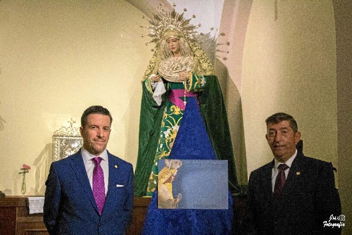 Presentada la Papeleta de Sitio de la Salida Extraordinaria de la Virgen de la Paz del próximo 29 de septiembre