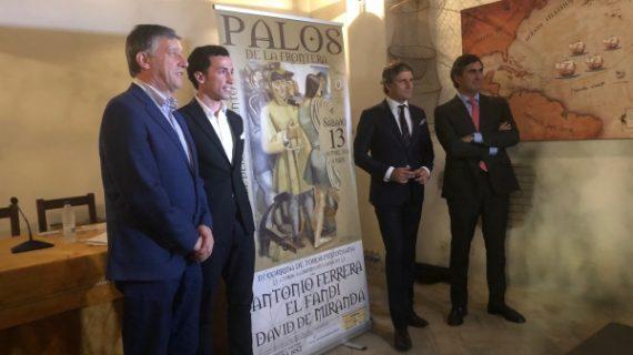 Palos presenta la novena edición de su corrida Pinzoniana
