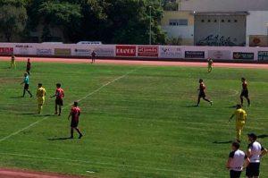 Isla Cristina y Roteña igualaron a tres goles en un partido de locura.