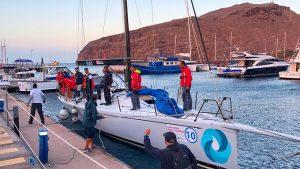 El barco de la Comisión Naval de Regata de Cádiz ha empleado 90 horas y 46 minutos en completar las más de 750 millas náuticas.