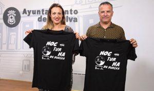 Un momento de la presentación de la VII Carrera Nocturna de Huelva que tendrá lugar este viernes.