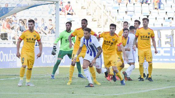 Iván González y Charaf, novedades en el Recre para el partido de este domingo (17:00) ante el San Fernando