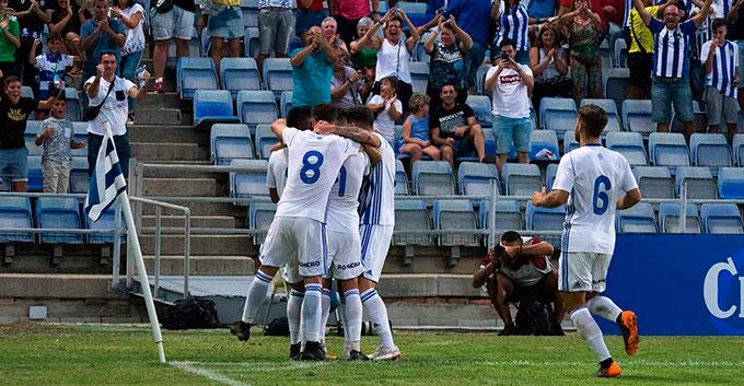 Los albiazules buscarán en La Línea su tercera victoria consecutiva.