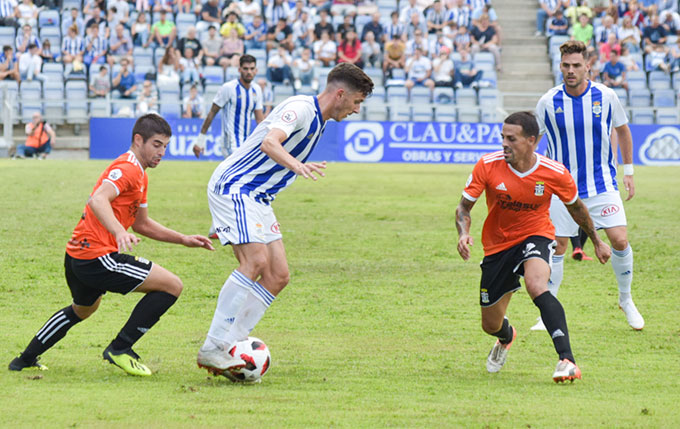 Alberto Ródenas pasa el 'corte' y entra en la lista de convocados del Recre ante el Atlético Malagueño