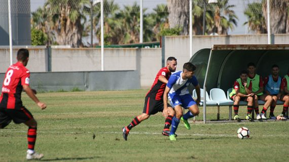 El Atlético Onubense se erige como líder en la División de Honor Andaluza tras golear a la Roteña