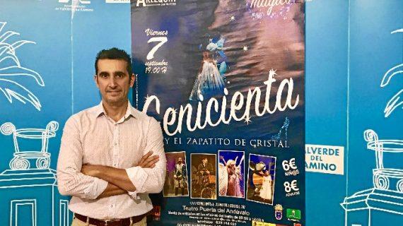 Llega a Valverde del Camino el mágico musical de 'Cenicienta y el zapatito de cristal'