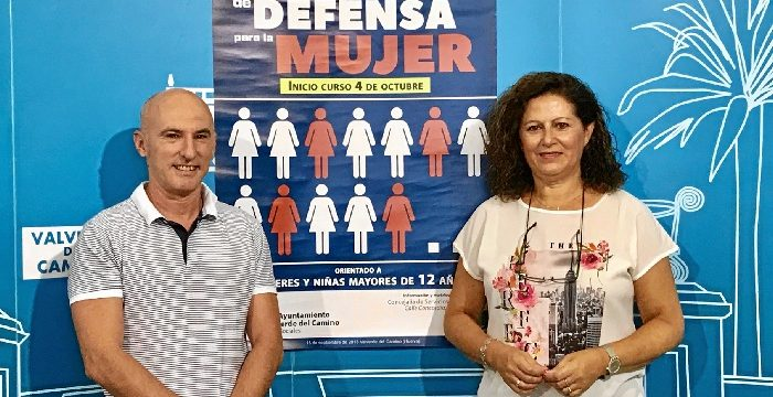 Valverde del Camino pone en marcha un taller de Protocolo de Defensa Personal para mujeres