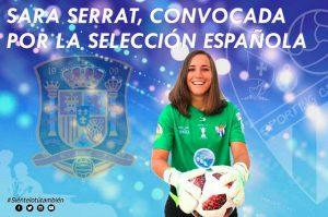 Sara Serrat estará de nuevo con la selección española en un entrenamiento. / Foto: @sportinghuelva.