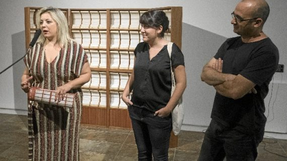 La Sala de la Provincia acoge la instalación 'Silabario' con el habla como objeto artístico