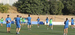 Las jugadoras del Sporting han preparado de manera concienzuda el partido de este domingo en Sevilla. / Foto: @sportinghuelva.