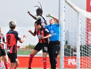 Pese a completar un partido más que aceptable, el Sporting regresó de vacío de Madrid. / Foto: www.laliga.es.