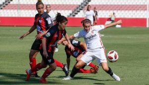 El Sporting Puerto de Huela quiere pasar página de su derrota en Sevilla y se centra en ganar este domingo al Levante. / Foto: www.lfp.es.