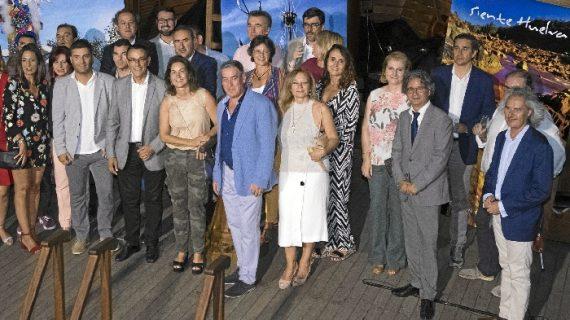 La Nao Santa María, embajadora de lujo de la provincia de Huelva, recala en la Marina de Valencia