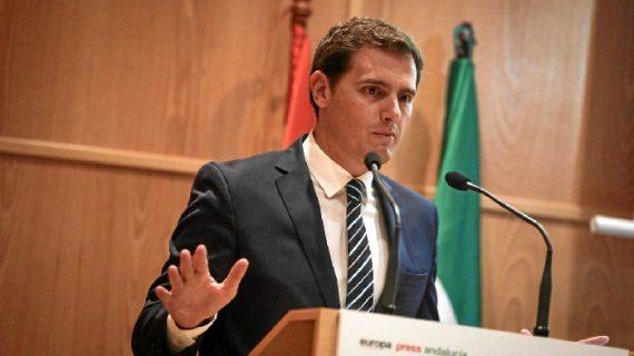 El presidente de Ciudadanos, Albert Rivera, visita Huelva