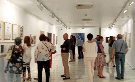 Inaugurada la exposición 'Mar de Pintor' en el museo Vázquez Díaz de Nerva