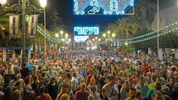 Inauguradas las fiestas de la Virgen de las Angustias de Ayamonte