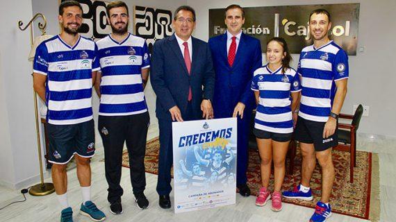 La Fundación Cajasol renueva su compromiso con el Club de Bádminton IES La Orden de Huelva