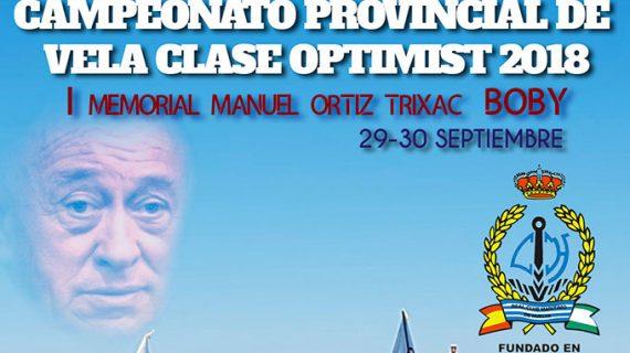 El Real Club Marítimo de Huelva alberga el Campeonato Provincial de Óptimist-I Memorial Manuel Ortiz Trixac 'Boby'