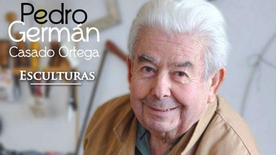 El veterano artista hinojero Pedro Germán Casado inaugura con su exposición el nuevo ciclo cultural de su localidad