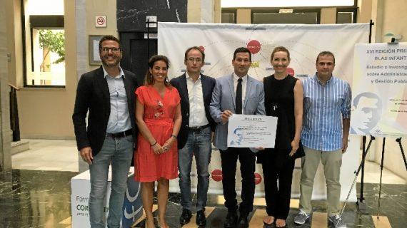El proyecto 'Nuevo Modelo de Concentración Municipal Diputación de Huelva', premio Blas Infante 2018