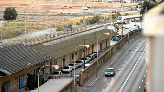 Arrancan el lunes los trabajos previos al derribo del muro ferroviario