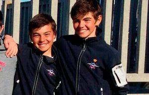 Nacho y Pepe Toronjo, dos de los representantes del RCMTPU en la prueba de este fin de semana.