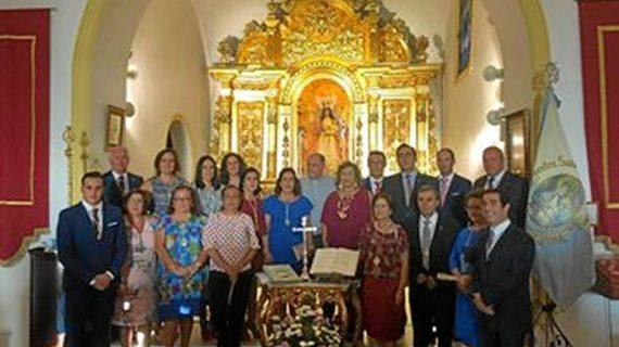 Juana María Becerril Pérez nueva Hermana Mayor de la Hermandad de Clarines