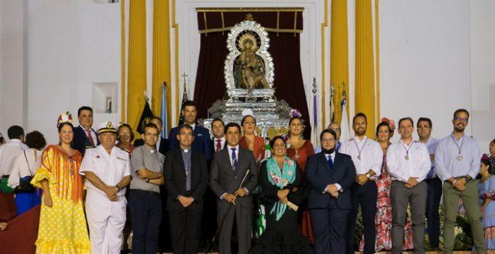 Ayamonte vive su tradicional ofrenda de flores a la Virgen de las Angustias