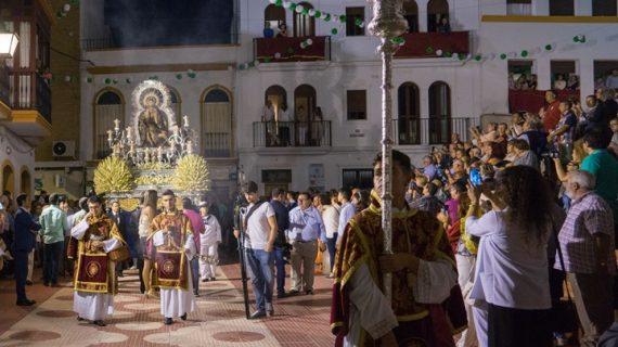 Ayamonte vive su día grande en honor a la Virgen de las Angustias