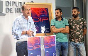 Un momento de la presentación del IX Trofeo Diputación de Huelva de baloncesto.