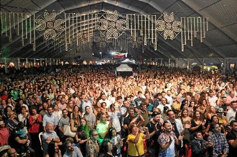 Incremento de visitantes y participación en la Feria de Octubre de Cartaya