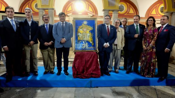 Un óleo de Mario Ignacio Moya será la imagen del encuentro de hermandades rocieras 'Rocío de amor y de caridad'
