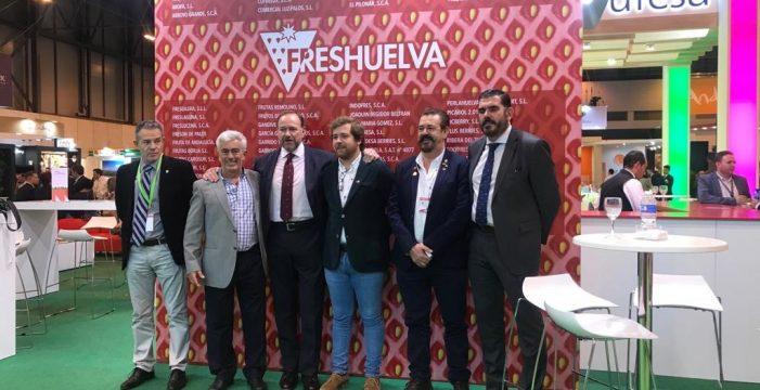 El presidente de Caja Rural del Sur, José Luis García Palacios, destaca la fortaleza del sector hortofrutícola andaluz exhibida en Fruit Attraction