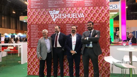 Interfresa felicita a cooperativas y empresas de Huelva por el alto nivel acreditado en Fruit Attraction