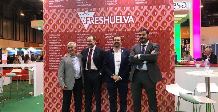 Interfresa felicita a cooperativas y empresas de Huelva por el alto nivel acreditado en Fruit Attraction