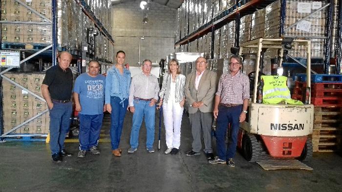 Subdelegación del Gobierno distribuye 676.038 kilos de alimentos a 24.350 personas de la provincia