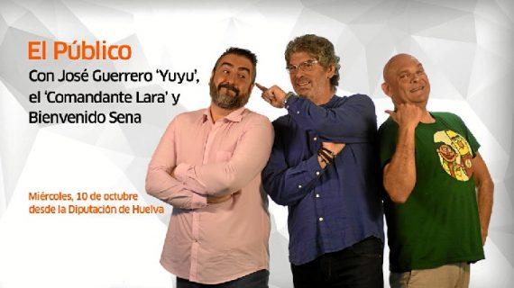 'El Público', en directo desde Huelva este miércoles