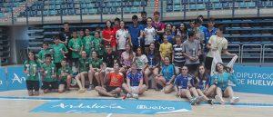 Participantes en el Máster Jóvenes Sub 13 y Sub 17 'Ciudad de Huelva'.