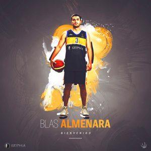 A última hora del sábado, el CDB Enrique Benítez anunció el fichaje de Blas Almenara.
