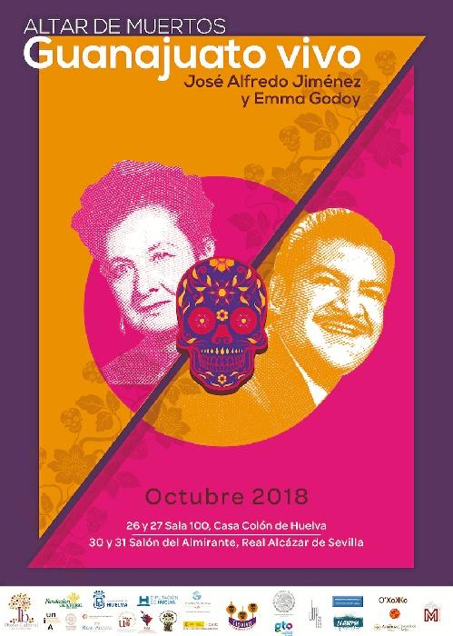 Guanajuato protagoniza la Fiesta de Muertos mexicana en el Otoño Cultural Iberoamericano