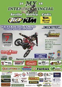 Cartel de la prueba que tendrá lugar en el circuito de 'Las Arenas'.